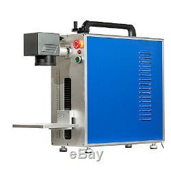 New! 30W Fiber Laser Marking Machine Portable Machine With Aluminum Profile
