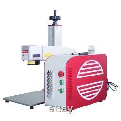New Update JPT MOPA 30W Portable Galvo Fiber Laser Marking Machine