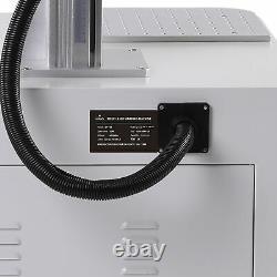 OMTech 30W Fiber Laser Marking Machine for Metal Marker Engraver 7.9 × 7.9