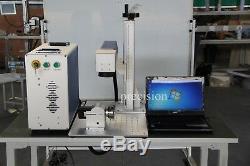 Portable mini 20 watt fiber laser marking machine made in china