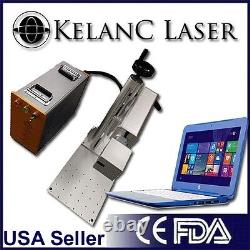 Portable with stand 30W Fiber Marking / Engraving Laser FDA NEW 2YR Warranty