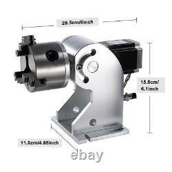Preenex 30W Fiber Laser Marking Machine Metal Marker 7.9 × 7.9 with Rotary Axis
