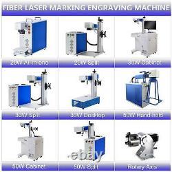 Preenex Raycus 20W 30W 50W Fiber Laser Marking Machine Steel Metal Engraving