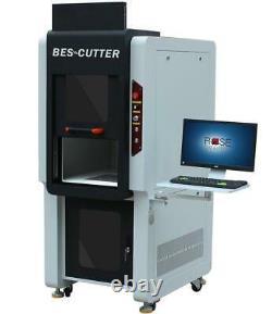 Q Series Galvo Fiber Laser Marker 20w-100w Desktop Enclosed Type