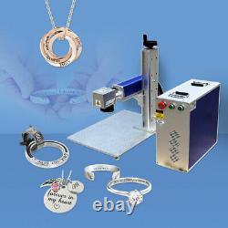 RAYCUS 30W Fiber Laser Marking Machine Metal Laser Engraving FDA Rotary Axis