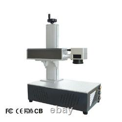 Raycus 20W Portable Fiber Laser Marking Machine EZ Cad FDA Certified