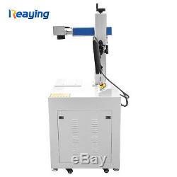 Raycus 30W CNC Fiber Laser Marking Machine for Metal Steel Phone Case Engraving