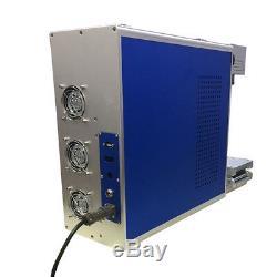 Raycus 30W Fiber Laser Marking Machine 110110mm Metal Engrave portable machine