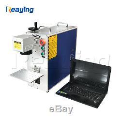 Raycus 30W Raycus USB Fiber Laser Marking Machine Metal Engraving CE FDA