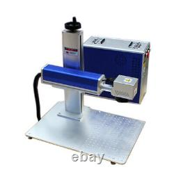 Raycus 30W Split Fiber Laser Marking Machine Raycus Laser & Rotation Axis FDA CE