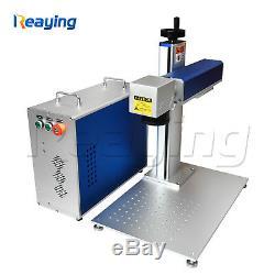 Raycus 30w fiber laser metal marking engraving machine Laser cutter metal mark