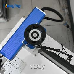Raycus 50W Fiber Laser Marking Machine Engrave Metal Plastic Acrylic Alumina FDA