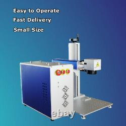 Raycus 50W Split Fiber Laser Marking Engraving Engraver Machine & Rotary&Ezcad 2