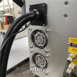 Raycus 50W auto focus fiber laser marking machine cut metal gold silver jewelry