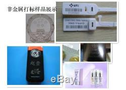 Raycus 50W hand held portable fiber laser marking machine marker laser engraver