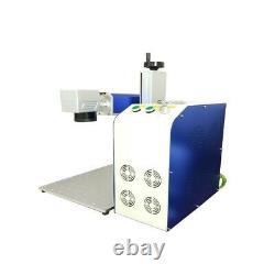 Raycus 50w fiber laser marking machine sino-galvo cheapest price for metal