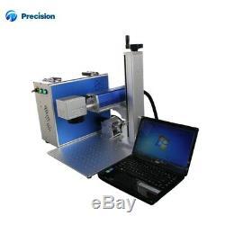 Raycus fiber laser marking machine 20w with rotary