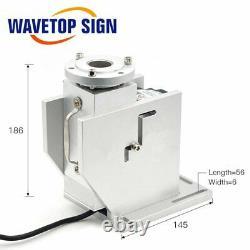 Rotary Worktable for Pen Marking Fiber Laser / UV / Co2 Laser Makring Machine