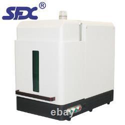 SFX 30W Full Enclosed Fiber Laser Metal Marking Machine DIY Jewelry Engraver CE