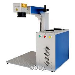 SFX MOPA JPT M7 30W Fiber Laser Marking Engraving Machine Lens 175MM Rotary 80MM