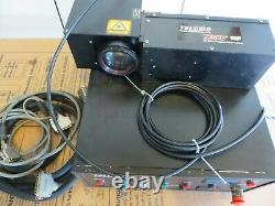 Telesis Zenith 10F 10 Watt Pulsed Fiber Laser Marking Engraving System