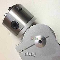 The Rotary Device for the Fiber Marking Maker Engraver 220V