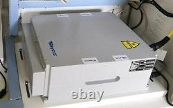 USA 20/30/50W Split Fiber Laser Marking Engraver with Rotary Axis & Raycus Laser