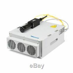 USA 30W Split Fiber Laser Marking Machine with Raycus Laser & Rotation Axis, FDA