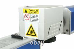 USA STOCK 50W Split Fiber Laser Marking Machine Metal Engraver Laser Marker