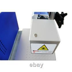 US 30W Split Fiber Laser Marking Engraver+Raycus Laser+Rotation Axis for Cup/Gun