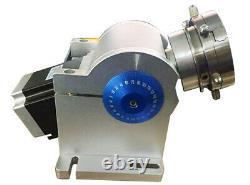 US 50W Raycus Split Fiber Laser Marking Machine Laser Engraver Rotary Axis FDA