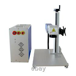US 50W Split Fiber Laser Marking Engraving Machine with Ezcad+Rotary Axis+Raycus