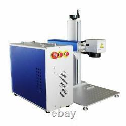 US Raycus 30W Split Fiber Laser Marking Machine Engraver with Rotary Axis FDA