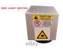US Stock 30W Split Fiber Laser Marking Engraving Machine including Ratory Axis