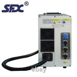 US Stock 50W JPT Fiber Laser Marking Machine 80mm Rotary 175mm Lens FDA Engraver