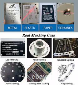 US Stock JPT 50W Fiber Laser Marking Machine 175x175mm Engraver Machine 80mmAxis
