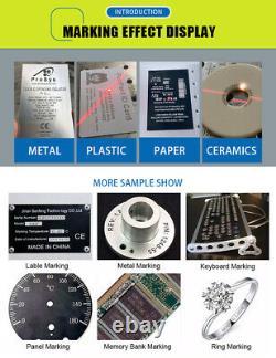 US Stock JPT 50W Fiber Laser Marking Machine 175x175mm Laser Engraving Machine