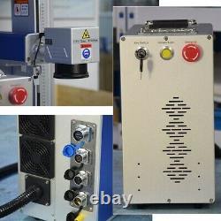 US Stock JPT 50W Split Fiber Laser Marking Machine 50W Metal Engraver Lens 175mm