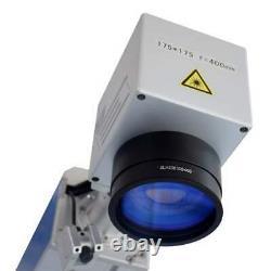 US Stock JPT Laser 30W Fiber Laser Marking Engraving Firearms Gun Pistol Dogtag